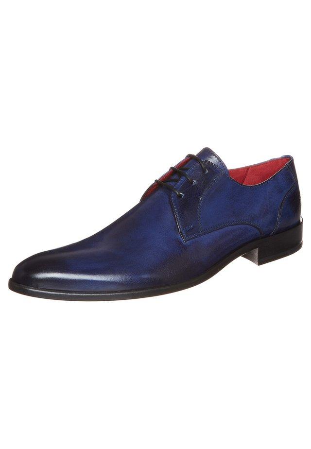 TONI 1 - Elegantní šněrovací boty - cobalt