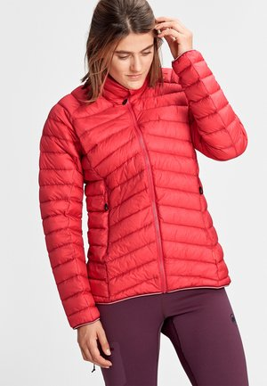 MERON LIGHT - Down jacket - dragon fruit