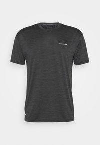 Endurance - BATANGAS  MELANGE TEE - Basic T-shirt - black - 4