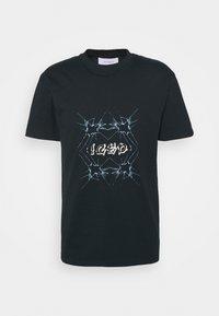 YAVI ARCHIE - ICED - Print T-shirt - navy - 3