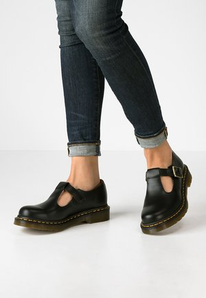 POLLEY - Loaferit/pistokkaat - black