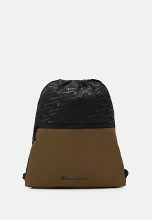 LEGACY GYMPACK - Drawstring sports bag - olive/black