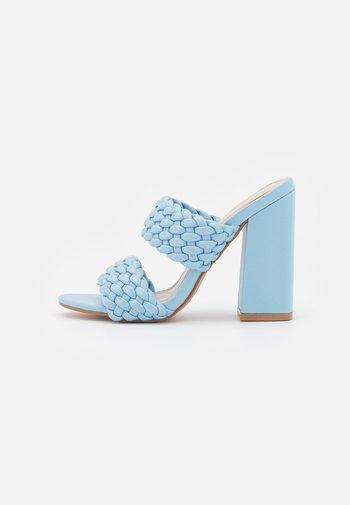 DEVYN - Heeled mules - blue