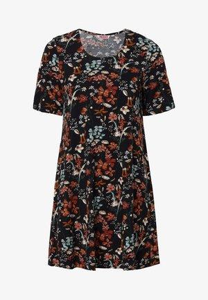 SALLY - Jersey dress - black