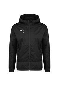 Puma - TEAMGOAL 23 REGENJACKE HERREN - Waterproof jacket - black/asphalt - 0