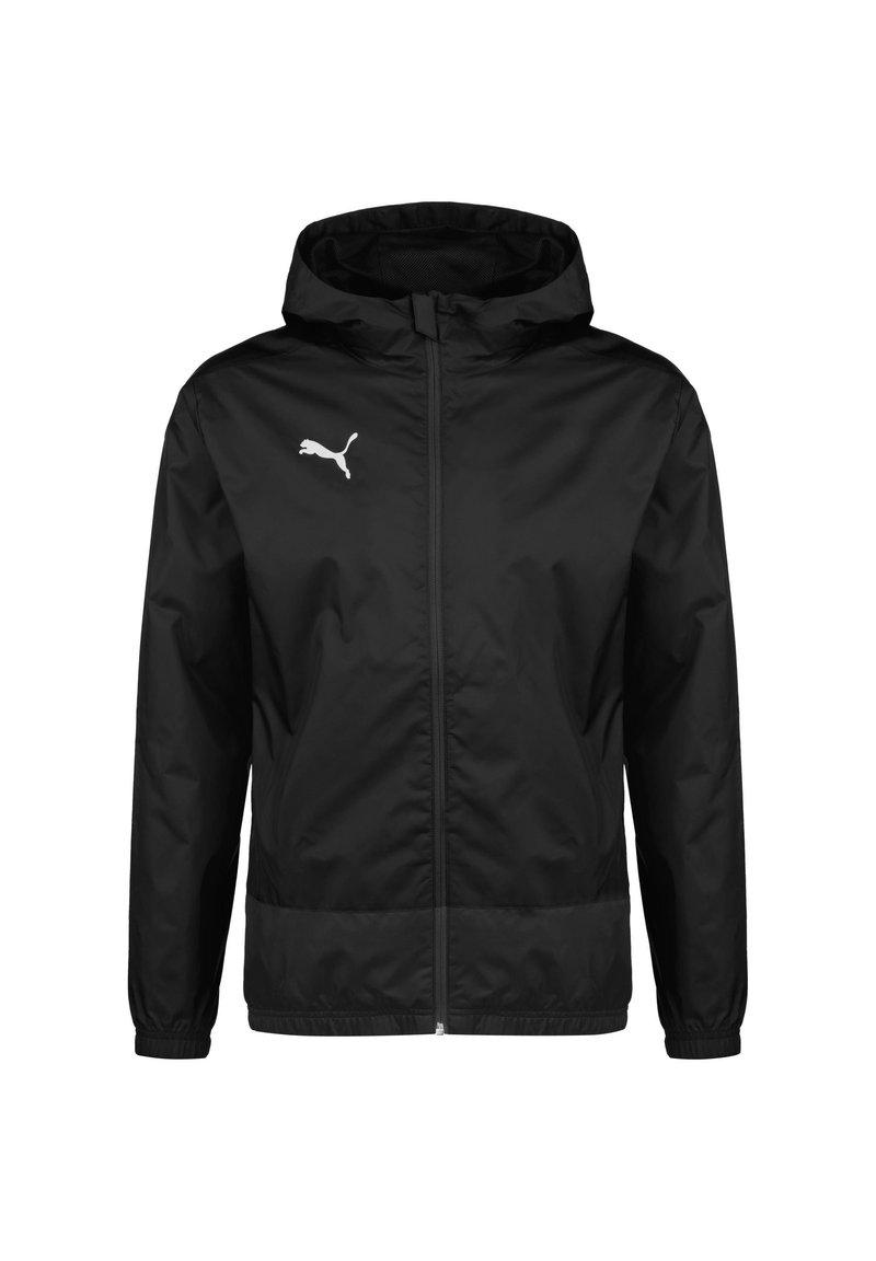 Puma - TEAMGOAL 23 REGENJACKE HERREN - Waterproof jacket - black/asphalt
