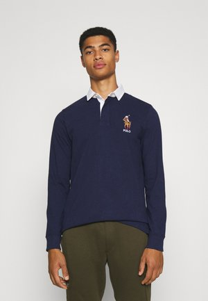 LONG SLEEVE RUGBY - Poloshirt - french navy
