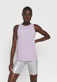 Nike Performance - DRY TANK ICON CLASH - Top - iced lilac - 0