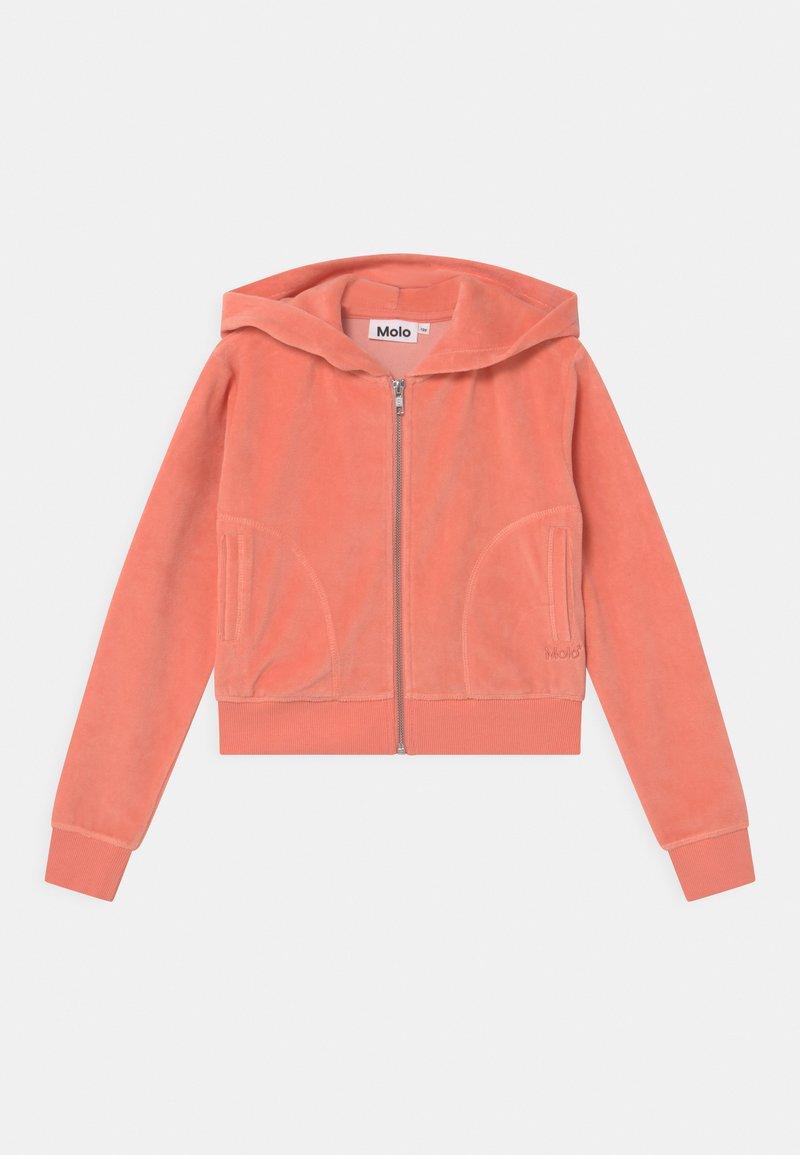 Molo - MILLA - Zip-up sweatshirt - burnt coral