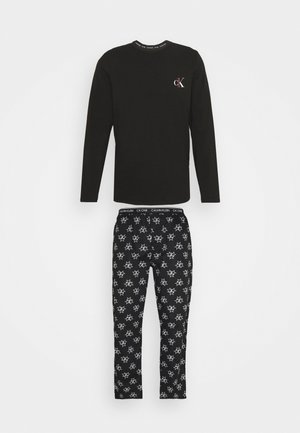 PANT SET - Pyžamová sada - black