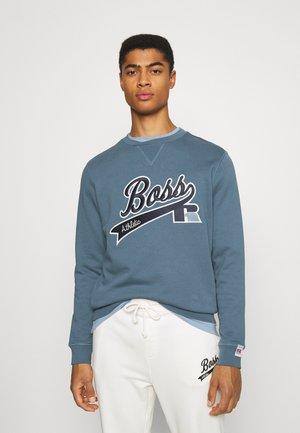 BOSS X RUSSELL ATHLETIC STEDMAN - Sweatshirt - bright blue
