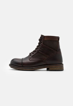 TRENT - Lace-up ankle boots - espresso