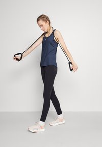 Nike Performance - ONE SLIM TANK - Top - midnight navy/white - 1