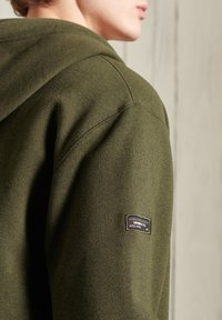 Superdry - Sweatjacke - black olive grit - 0
