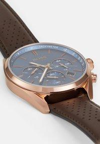 BOSS - CHAMPION - Chronograph watch - brown - 2