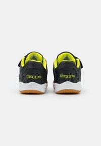 Kappa - DAMBA UNISEX - Sports shoes - black/yellow - 2
