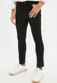 Trendyol - Jean slim - black - 0