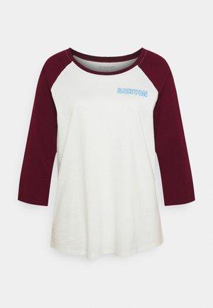 TUPLIN RAGLAN TEE  - Long sleeved top - white