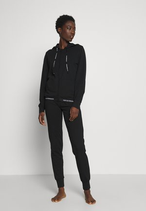 JACKET AND PANTS WITH CUFFS SET - Nattøj sæt - nero