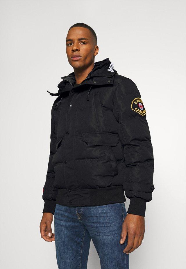 CANADA TURVO PUFFER - Winter jacket - black