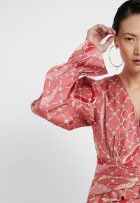 Three Floor - FANTASIST DRESS - Ballkleid - faded rose /tomato red - 5