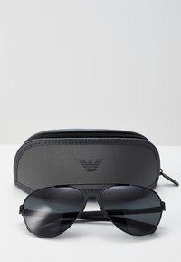 Emporio Armani - Sunglasses - black/grey - 2