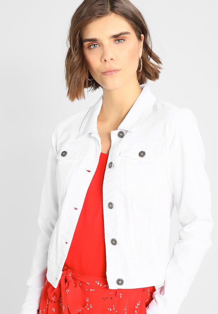 Noisy May - NMDEBRA - Denim jacket - bright white