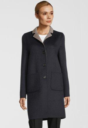 LEON  - Classic coat - navy/sand