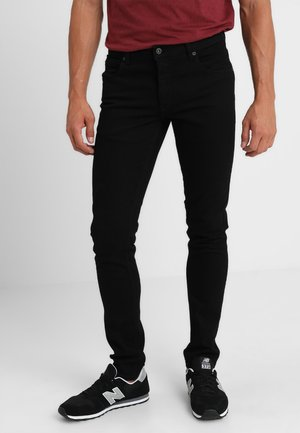DEXTER - Skinny džíny - black denim