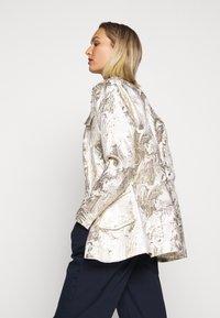 Bruuns Bazaar - LUNAS JACKET - Short coat - white/gold - 4