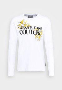 Versace Jeans Couture - LOGO - Long sleeved top - white/black/gold - 0