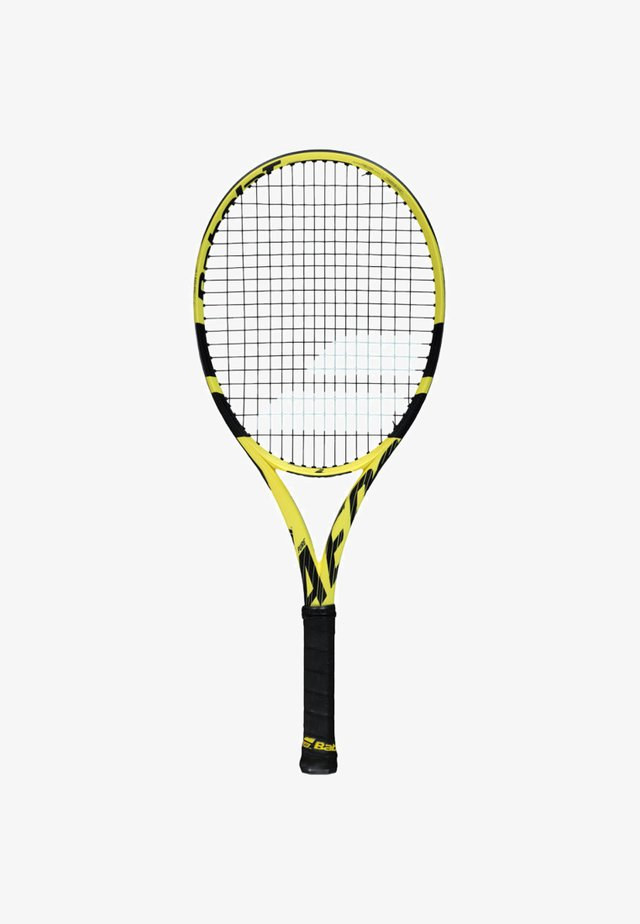 PURE AERO JUNIOR - Tennis racket - yellow/black