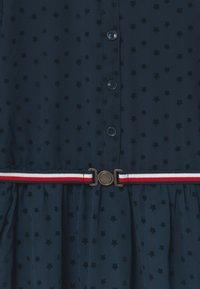Tommy Hilfiger - FLOCK STAR - Cocktail dress / Party dress - blue - 2