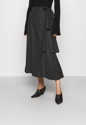 SKIRT - Wrap skirt - grey