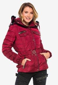 Cipo & Baxx - Winter jacket - burgundy - 8