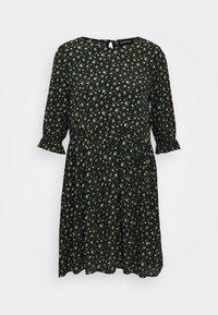 Even&Odd - Day dress - black/yellow - 5