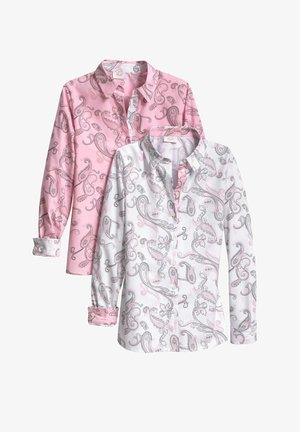 2 PACK - Button-down blouse - rosenholz
