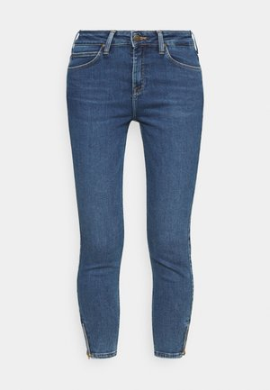SCARLETT HIGH ZIP - Jeans Skinny Fit - mid ely