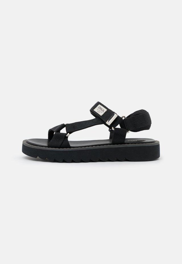 ONLMALU CHUNKY WRAP  - Sandaler - black