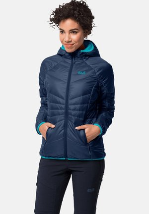 ARGON HOODY W - Winter jacket - marine