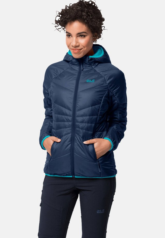 ARGON HOODY W - Winter jacket - marine