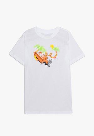 TEE ERMSY BEACH - Print T-shirt - white