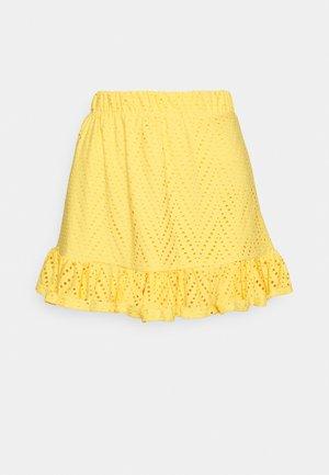 VMLEAH SHORT SKIRT  - Mini skirt - cornsilk