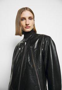 MM6 Maison Margiela - Kožená bunda - black - 3