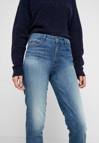 G-Star - 3301 HIGH STRAIGHT 90S - Jeans straight leg - antic indigo - 4