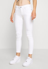 ONLY - ONLCARMEN DEST - Jeans Skinny Fit - white - 0