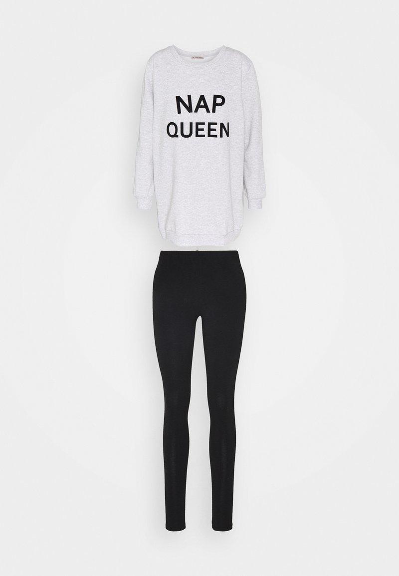 Anna Field - NAP QUEEN SET - Pyjamas - black/grey
