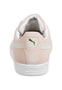Puma - SUEDE CLASSIC - Sneakers - peachskin/puma white - 3