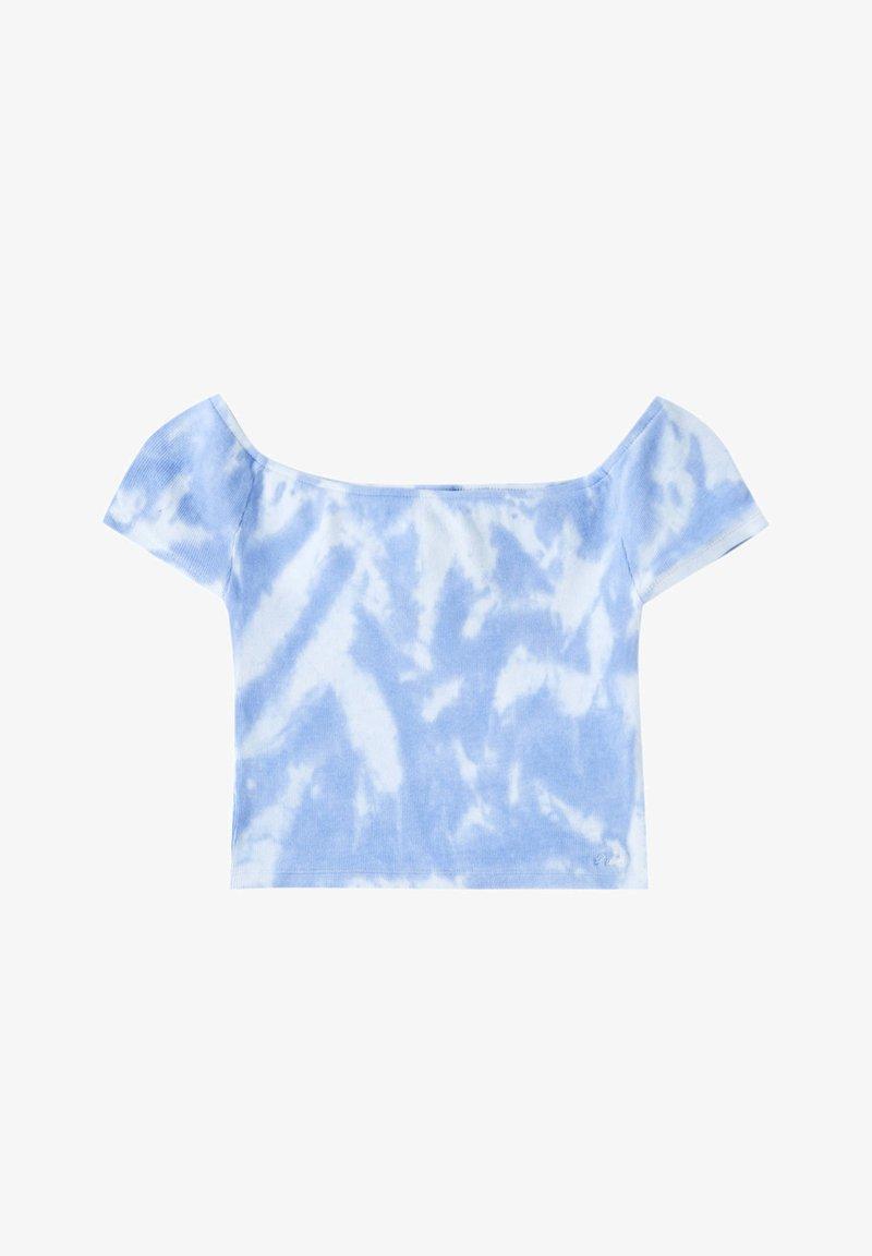 PULL&BEAR - Printtipaita - blue