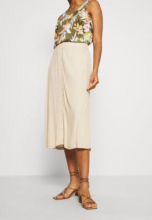 MAISA - A-line skirt - nude